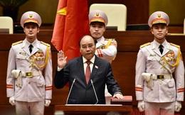 Video Chủ tịch nước Nguyễn Xuân Phúc tuyên thệ nhậm chức
