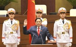 Video Thủ tướng Chính phủ Phạm Minh Chính tuyên thệ nhậm chức