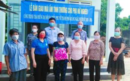Hội LHPN TP Quảng Ngãi bàn giao 2 Mái ấm tình thương cho phụ nữ nghèo