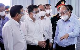 Chủ tịch nước: Bình Dương cần sớm đưa khu điều trị dã chiến 5.000 giường đi vào hoạt động
