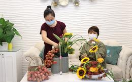 Câu chuyện ý nghĩa đằng sau người phụ nữ làm những bó hoa bằng trái vải