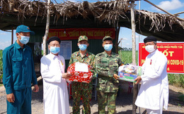 Hội thánh Cao Đài Tây Ninh chia sẻ, động viên Bộ đội Biên phòng trong chống dịch Covid-19