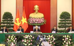 Tổng Bí thư Nguyễn Phú Trọng dự hội nghị giữa Đảng Cộng sản Trung Quốc với các chính đảng