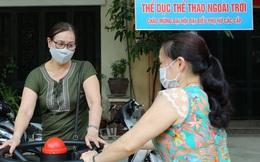 Hội LHPN phường Phương Liệt (Hà Nội) khánh thành công trình Thể dục thể thao ngoài trời
