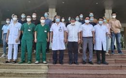 16 y bác sĩ đầu tiên của BV Bệnh Nhiệt đới TƯ vào hỗ trợ TPHCM chống dịch Covid-19