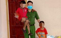 Công an giải cứu 2 cháu bé bị ông nội tâm thần cầm dao đe dọa