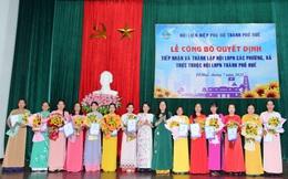 Tiếp nhận và thành lập các tổ chức cơ sở Hội thuộc Hội LHPN thành phố Huế