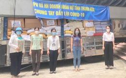 Phụ nữ Thanh Hóa gửi thực phẩm, khẩu trang hỗ trợ Bình Dương chống dịch