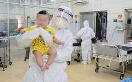 Bệnh viện điều trị Covid-19 Trưng Vương đã điều trị cho 210 trẻ em