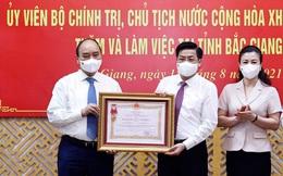 Tỉnh đầu tiên được tặng Huân chương vì thành tích chống dịch Covid-19