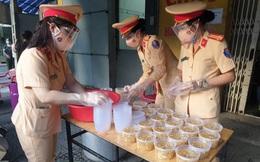 Những hoạt động ý nghĩa của Phụ nữ Cảnh sát giao thông trong phòng chống dịch Covid-19