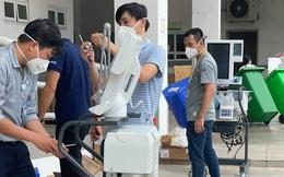 Khẩn trương vận hành Trung tâm hồi sức Covid-19 tại Bệnh viện Quốc tế City