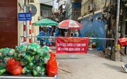Phát hiện 9 F0 trong 1 ngõ, quận Thanh Xuân phong tỏa khu vực có 2.000 dân sinh sống