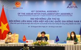 AIPA-42: Nữ đại biểu Quốc hội thể hiện vai trò tích cực tham gia giải quyết các vấn đề khu vực