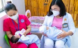 Cận cảnh trung tâm chăm sóc trẻ có mẹ mắc Covid-19, người thân chưa đến đón