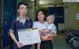 Một độc giả Báo PNVN tặng 3 triệu đồng cho đôi vợ chồng khiếm thị gặp khó trong dịch Covid-19