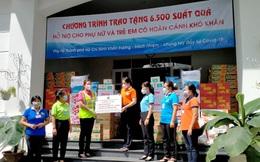 3.800 phần quà trị giá hơn 2 tỷ đồng hỗ trợ phụ nữ và trẻ em tại TPHCM và Bình Dương