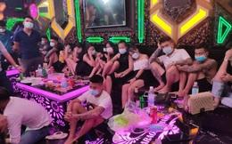 Bắt quả tang 30 nam, nữ tụ tập, sử dụng trái phép chất ma túy trong quán karaoke