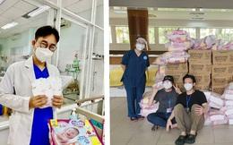 Diana Unicharm sát cánh cùng đội ngũ y tế tuyến đầu chăm sóc bệnh nhân