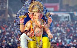 Lễ hội tôn vinh vị thần đầu voi Ganesha ở Ấn Độ