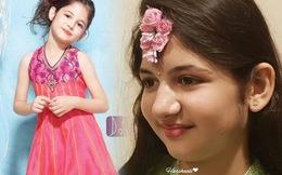 """Tiểu công chúa xinh nhất Ấn Độ 6 năm trước giờ 13 tuổi bị chê già, """"dậy thì"""" thất bại"""