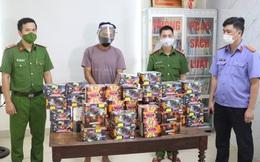 Bắt quả tang tài xế vận chuyển hơn 70kg pháo từ Quảng Trị ra Nghệ An tiêu thụ