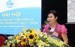 Bà Bùi Thanh Thủy tái đắc cử Chủ tịch Hội LHPN tỉnh Sơn La, nhiệm kỳ 2021-2026