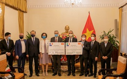 Pháp và Ý trao 1.484.060 liều vaccine Covid-19 cho Việt Nam
