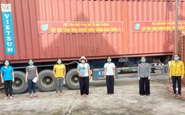 Hội LHPN tỉnh Bình Dương tiếp nhận hàng hỗ trợ trị giá hơn 1,3 tỉ đồng từ phụ nữ Hải Phòng