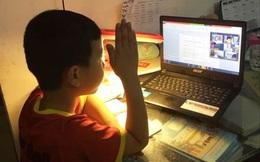 Lo lắng khi con một mình học online ở quê