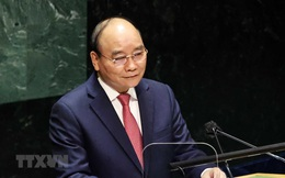 Chủ tịch nước Nguyễn Xuân Phúc tham dự và phát biểu tại Hội nghị về chấm dứt đại dịch