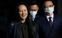 """""""Công chúa Huawei"""" Mạnh Vãn Châu được thả trở về Trung Quốc"""