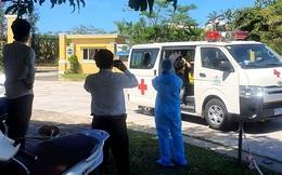 """Thuê xe cấp cứu """"thông chốt """" từ TPHCM về Đà Nẵng"""