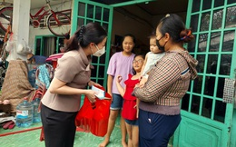 Bình Dương: Nhiều hoạt động sẻ chia với phụ nữ, trẻ em khó khăn do dịch Covid-19