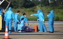 205 phụ nữ mang thai và trẻ em về đến Hà Tĩnh