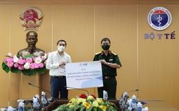 Bộ Y tế tiếp nhận 1 triệu khẩu trang N95 chống dịch