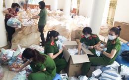 Phụ nữ Công an tỉnh Phú Thọ gửi 1.000 suất quà hỗ trợ người dân TPHCM và Bình Dương