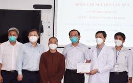 Bí thư TPHCM thăm, động viên các lực lượng tại Bệnh viện Hồi sức Covid-19