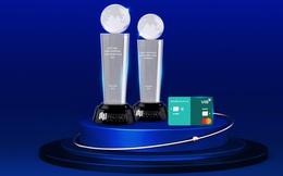 Ngân hàng lập cú đúp giải thưởng quốc tế về thẻ tín dụng