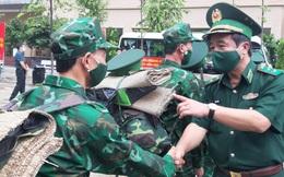 51 quân y biên phòng lên đường chống dịch tại các tỉnh phía Nam