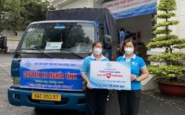 Phụ nữ Đồng Tháp san sẻ yêu thương với người dân TPHCM