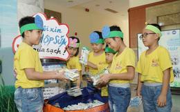 TPHCM: Học sinh hơn 600 trường mầm non, tiểu học thu gom, tái chế vỏ hộp giấy