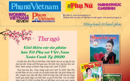 Mời bạn đặt mua các ấn phẩm báo Tết PNVN Xuân Canh Tý 2020