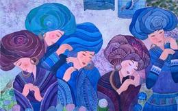 """Chiêm ngưỡng Sa Pa tuyệt đẹp trong """"Mơ"""" của 2 họa sĩ trẻ"""