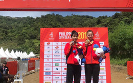 Nữ VĐV Xe đạp giành Huy chương Vàng đầu tiên cho Việt Nam ở SEA Games 30