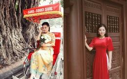 Diễn viên Thanh Hương dịu dàng, thả dáng xuống phố