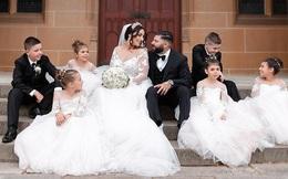 Mẹ 7 con làm đám cưới trong mơ và nghị lực sống kiên cường sau khi bị ung thư vú giai đoạn cuối