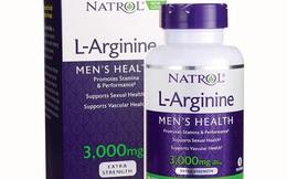 Cẩn trọng với thông tin quảng cáo thực phẩm bảo vệ sức khỏe Natrol L-Arginine