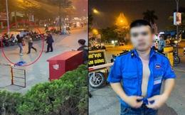 Bảo vệ đánh đấm túi bụi phụ nữ trước cổng trung tâm thương mại bị đình chỉ việc để điều tra