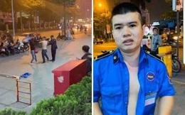 Lý do người phụ nữ bị bảo vệ cởi áo đấm túi bụi trên vỉa hè Hà Nội